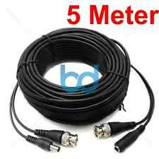 10 METRE PRE-MADE SIAMESE CABLE CCTV BNC VIDEO AND DC POWER CABLE 10M