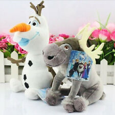 Cute Movie Frozen Olaf Sven Figures Character Soft Plush Doll Kids Children Toy