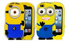 3D Silicone Despicable Me Minion Gel Case Cover For Apple iPhone 6 Plus 5.5""