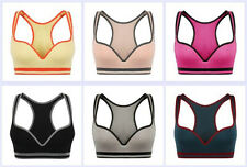 Sexy Womens Fashion Seamless Push-up Bra Lingerie Padded Gather Sports Bra Wire