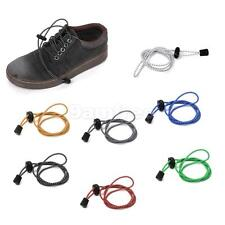 Footful Fitness Elastic Triathlon Running Sports Trainers Lock No Tie Shoe Laces