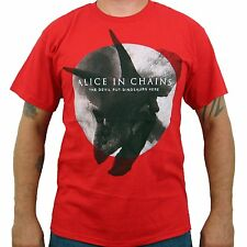 New: ALICE IN CHAINS - (The Devil Put The Dinosaurs Here) Concert T-Shirt :)