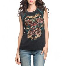 AFFLICTION Womens SLEEVELESS T-Shirt SACRED Tattoo Biker UFC BKE Sinful S-XL $48