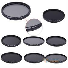 Slim Fader Adjustable Variable ND2 to ND400 Filter Neutral Density For Canon