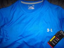 UNDER ARMOUR EMBOSSED PATTERN TECH SHIRT LOOSE FIT SIZE XXL L MEN NWT $$$$