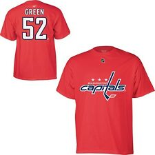 Washington Capitals Mike Green Red Name and Number T-Shirt