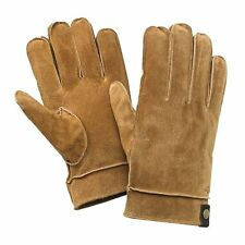 Dockers Gloves Leather Suede Ranch tan  sherpa lined Men's size XL NEW