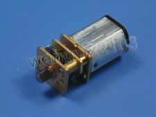 New DC3V 6V 12V N20 Micro Speed Reduction Gear Motor with Metal Gearbox Wheel