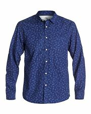 NEW QUIKSILVER™  Mens Ghetto Long Sleeve Shirt Tops MORE COLOURS AVAIL
