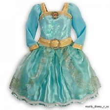 Newest Disney Store Exclusive Brave Formal Princess Merida Girls Costume Dress