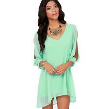New Sexy Women Ladies Summer Casual Party Evening Short Mini Dress Ornate