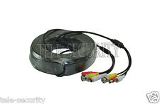10/20/30M BNC RCA Audio/Video Power Cable Three In One For CCTV Cameras/DVR