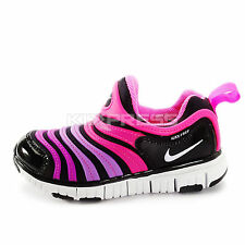 Nike Dynamo Free (PS) AP [343738-016] Running Black/White-Pink