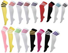 LADIES AND MENS OVER THE KNEE THIGH HIGH 118 - 118 REFEREE SOX SOCKS FANCY DRESS