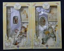 New First Communion Candle Box Gift Set For Boys or  Girls Missal English