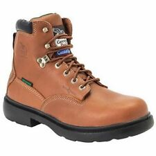 Georgia Mens Briar Brown Leather Waterproof CC Steel Toe Work Boots G6603