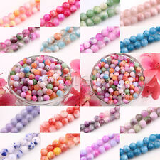 Glass Persia Jade Round Loose Spacer Beads Charms 18 Color Or Mixed 6mm 8mm 10mm