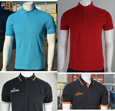 NEW MENS PLAIN POLO T SHIRT SHORT SLEEVE TOP GOLF OLYMPIC PIQUE COLLARED CASUAL