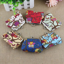 Fashion Women Lovely Style Lady Small Wallet Hasp Owl Purse Clutch Bag Ornate