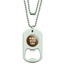 Dog Tag Bottle Opener Inspirational