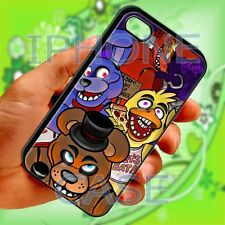 cool Five Nights at Freddy's black iphone 4 4s 5 5s 5c 6 6+ plus case cover