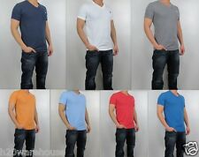 NWT Abercrombie & Fitch A&F 2015 Men Muscle Fit V Neck Tee T Shirt By Hollister