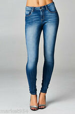 Cello PLUS Size SKINNY Jeans Soft & Stretch Denim Distressed BIG Jeggings Womens