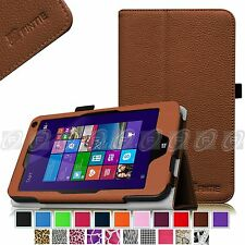 Fintie Folio Premium Leather Stand Case Cover For HP Stream 7 32GB Windows 8.1