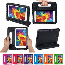 Durable Kids Handle Shock Proof Tablet Back Cover Case For Samsung Galaxy Tab 4