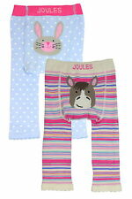 Joules Knitted Leggings Set 2 Pack - Horse and Hare