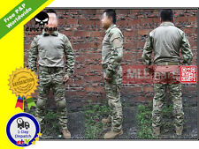 MLEmart Emerson Airsoft Gen2 Tactical Combat Shirt and Pants Multicam with Pads