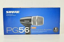 Shure PG56 Cardioid Dynamic Microphone Drum snare tom s66716