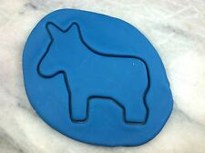 Democrat Donkey Cookie Cutter CHOOSE YOUR OWN SIZE!