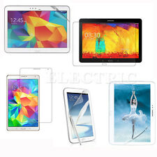 NEW For Samsung Galaxy Note/Tab Tablets HD Clear LCD Screen Protector Film Guard