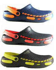NEW MENS CLOGS HOSPITAL GARDEN CATERING NURSES BEACH SLIP ON COOLERS SIZE 7 - 12