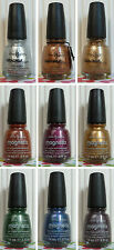 ONE NEW CHINA GLAZE NAIL LACQUER POLISH CRACKLE GLAZE OR MAGNETIX  - YOU PICK!