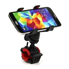 Universal Motorcycle Bike Bicycle Handlebar Mount Clip Holder for Cell Phone GPS