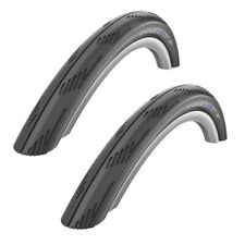 "PAIR 26"" x 1.50 SCHWALBE CITY JET BLACK Slick Mountain Bike City Road Tyres"