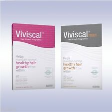 VIVISCAL EXTRA STRENGTH *OR* MAN (60 TABS) hair loss regrowth formula men women