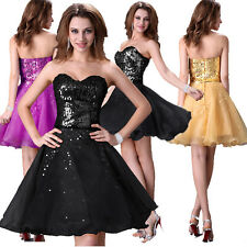 Plus Size Short Evening Prom Ball Homecoming Party Bridesmaid GRAD Semi Dresses