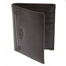 Ollys Mens Bobby Leather Bifold Wallet With Zipper Pocket /Money /Card Holder