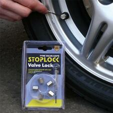 +Stoplock Anti Theft Alloy Lock Dust Valve Caps for Wheel VARIOUS/15