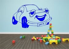 Personalised Cartoon Car Vinyl Wall Sticker Decal Transfer Mural Stencil Art
