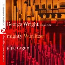 GEORGE WRIGHT - GEORGE WRIGHT PLAYS THE MIGHTY WURLITZER PIPE ORGAN NEW CD