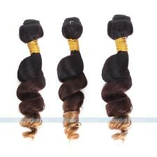Brazilian Ombre Remy Loose Wave Weave Bundle 100% Human Hair Extensions