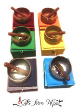 "4.5"" Singing Bowl Box Gift Set - Tibetan Singing Bowl- Meditation Bowl-Yoga Bowl"