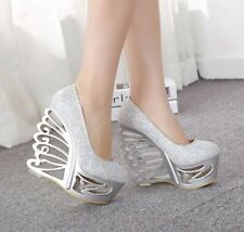 New fashion Nightclubs sexy Alien high heels women's party shoes wedding shoes