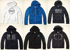 NWT 2015 Hollister by Abercrombie - Mens Hoodie, Size S M L XL
