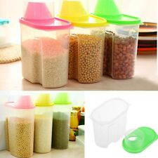 1.8/2.5L Rice, Food, Cereal, Pasta, Dry Goods Kitchen Plastic Storage Containers