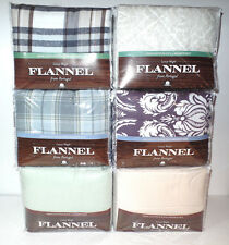 Divatex Flannel Sheets from Portugal 100% Cotton Sizes Full, Queen, King NEW